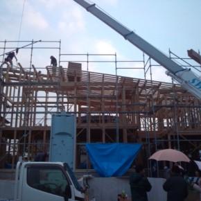 太宰府市F様邸 上棟完了しました。