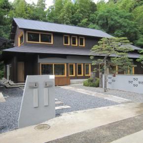 山里の古民家改修